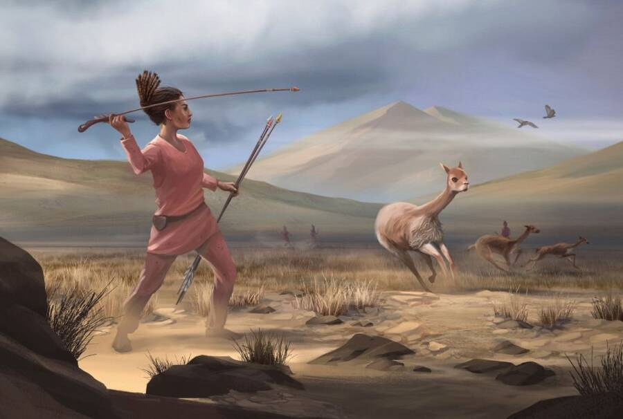 9,000-Year-Old Remains Of Female Hunter Found In Peru