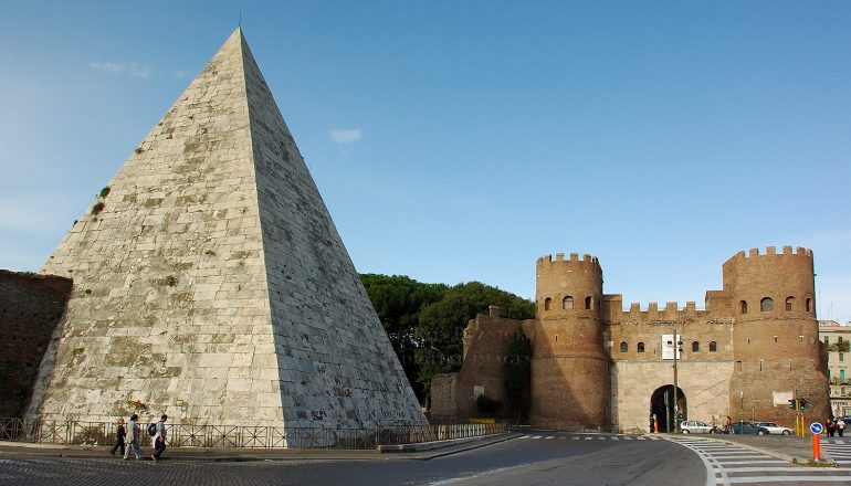 Discovering ancient Egypt in the heart of Rome, Italy