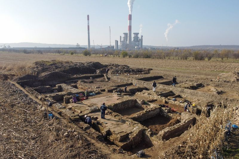 The impressive Roman military base found in Cornfield in Serbia