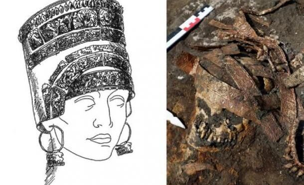 Female warrior was buried in the 'riding position' as if on a horse journeying into the afterlife 2,400 years ago