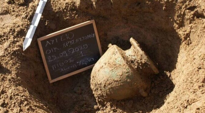2,300-Year-Old Burials Discovered in Southern Greece