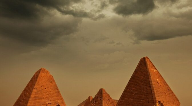 The lost city in the sands: Inside the ancient citadel of the Black Pharaoh's which has pyramids to rival Egypt