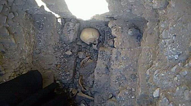 Skeleton of Teen Girl Found Buried Next to Mysterious Pyramid in Egypt