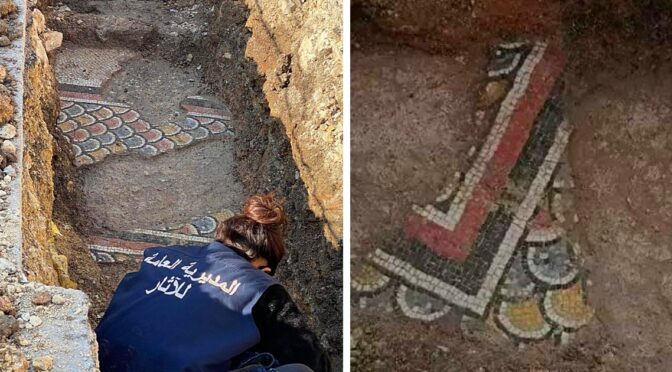 Mosaics From The Roman Era Were Just Uncovered In Lebanon