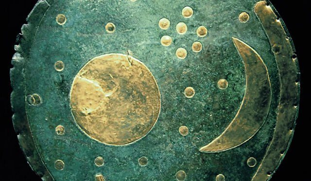 Dated to c. 1600 BC, the Nebra sky disk is one of the most important archaeological finds in the 20th century