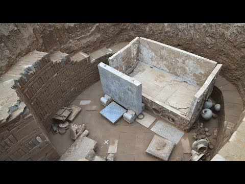 1,500-Year-Old Tomb Discovered in Central China