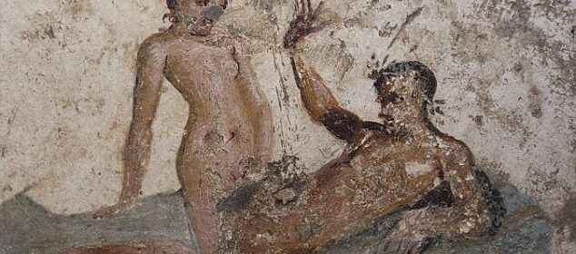 ANCIENT EROTICA Pornographic Pompeii wall paintings reveal the raunchy services offered in ancient Roman brothels 2,000 years ago