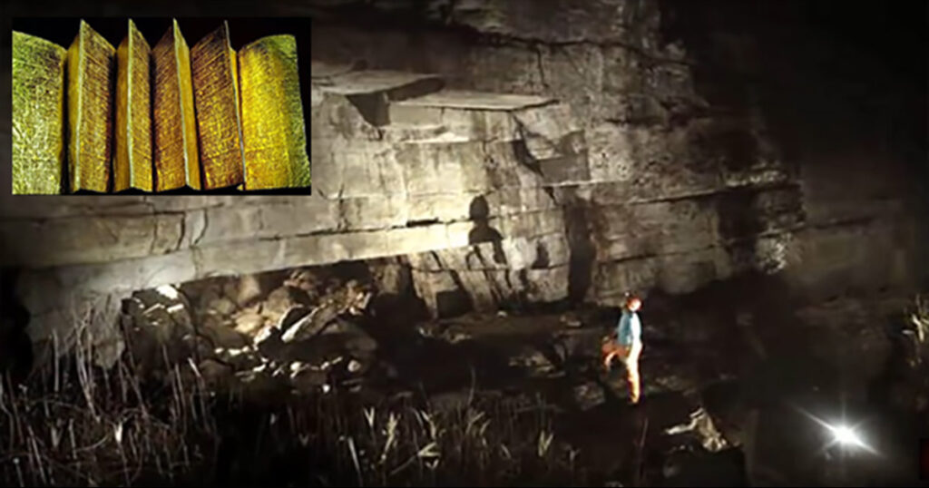 Priests Discover Golden Library Built by Giants Inside of a Cave in Ecuador