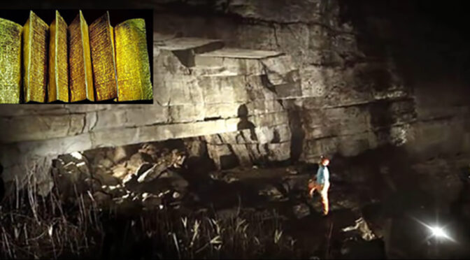 Priests Discover Golden Library Built by Giants Inside of a Cave in Ecuador?