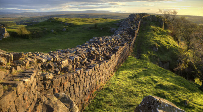 Roman road pre-dating Hadrian's Wall discovered in Northumberland