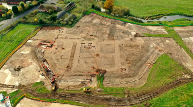 Archaeologists on HS2 line uncover grounds of perfectly preserved 16th-century manor gardens