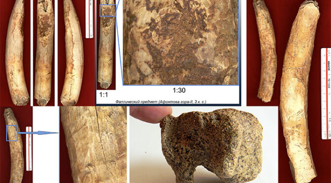 Prehistoric people developed a technique for making a play dough-like material from mammoth ivory