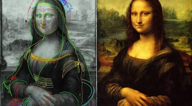 "Scientist Finds Hidden Portraits Underneath ""Mona Lisa"""