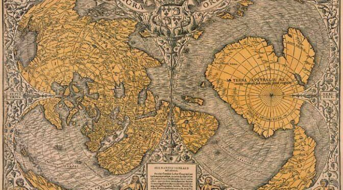 """500 Year Old Map Was Discovered That Shatters The """"Official"""" History Of The Planet"""