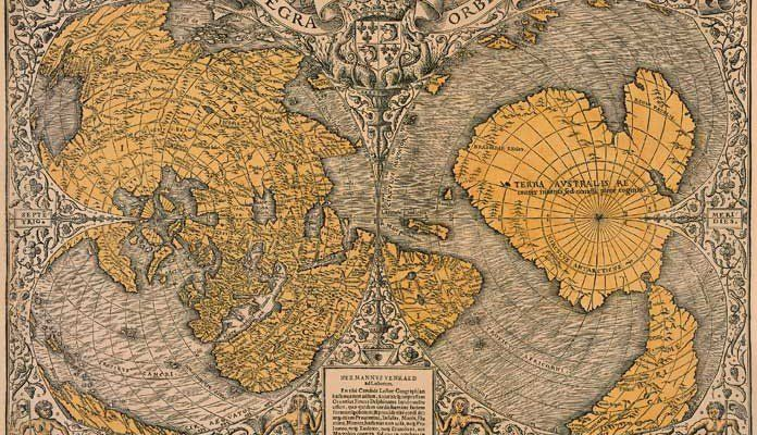 "500 Year Old Map Was Discovered That Shatters The ""Official"" History Of The Planet"