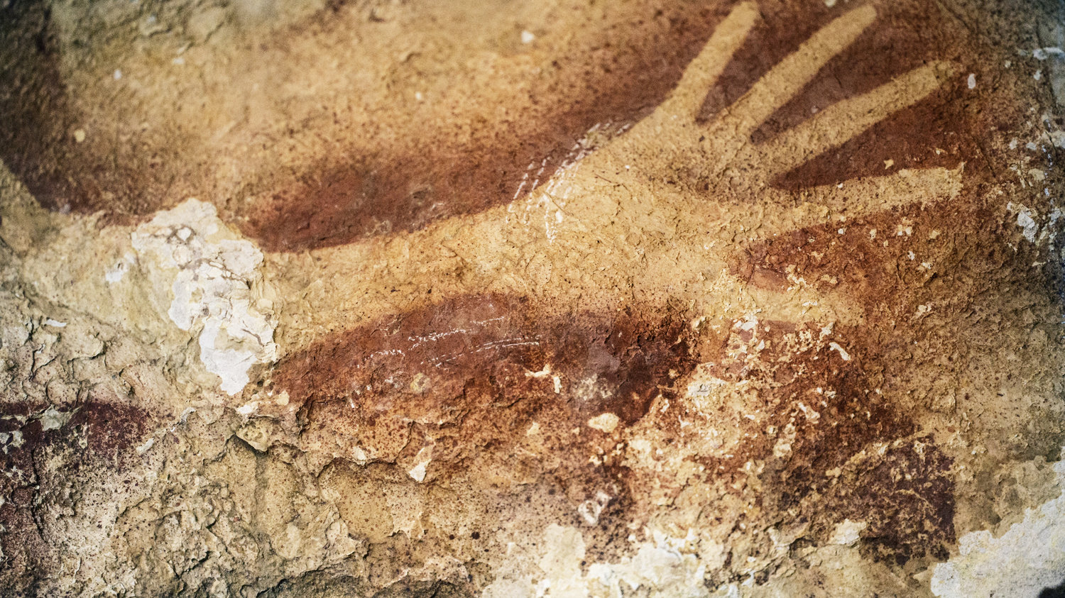 World's Oldest Known Figurative Paintings Discovered in Borneo Cave Indonesia