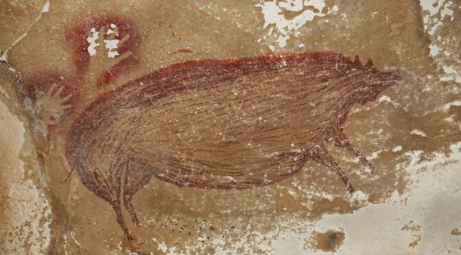 Archaeologists Have Discovered a Pristine 45,000-Year-Old Cave Painting of a Pig That May Be the Oldest Artwork in the World