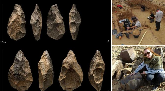200,000-year-old tools from Stone Age unearthed in Saudi Arabia