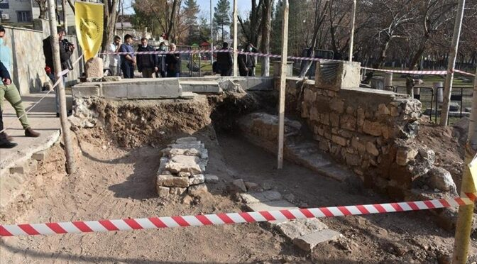 Sultan's Grave Discovered in Eastern Turkey