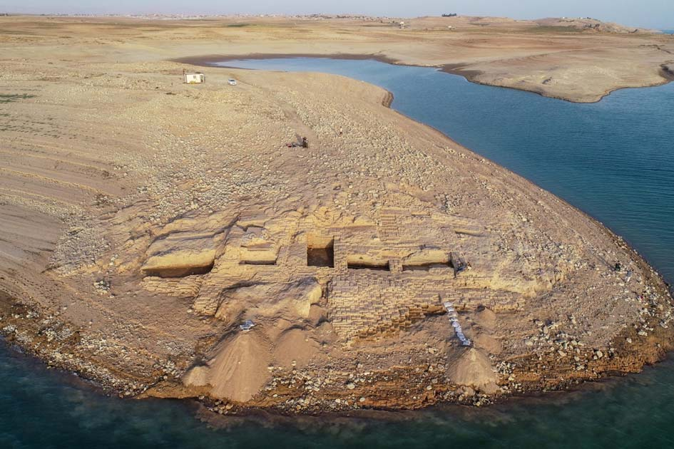3400-year-old palace from a mysterious kingdom surface in Iraq during drought