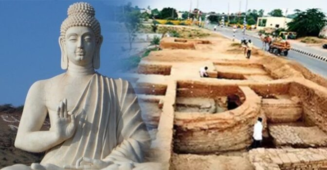 Possible 10th-Century Buddhist Monastery Site Uncovered in India