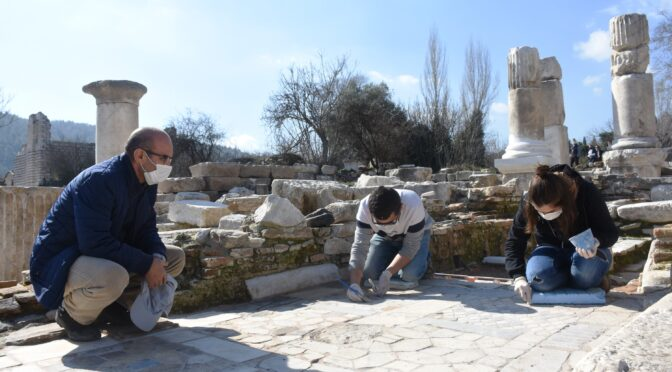 Turkey: 1,550-year-old church's Marble Floor meticulously restored