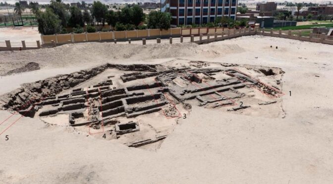 Ancient beer factory unearthed by archaeologists in Egypt