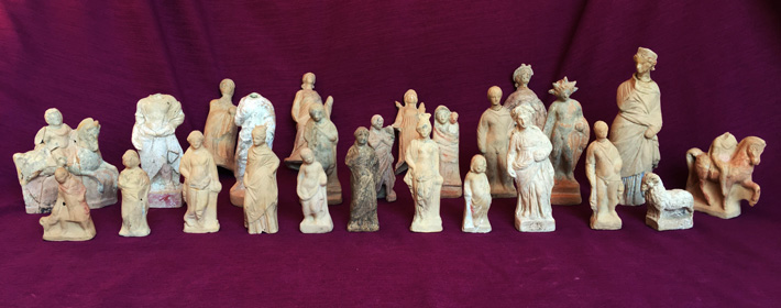 Painted Terracotta Figurines Discovered in Turkey
