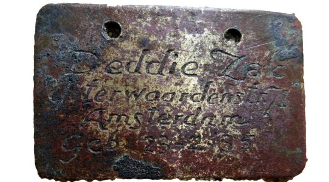Children's ID tags unearthed at Nazi death camp in Poland