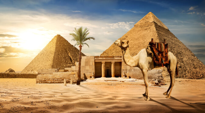 There is a 'Hidden World' Beneath The Pyramids of Giza, Experts Claim