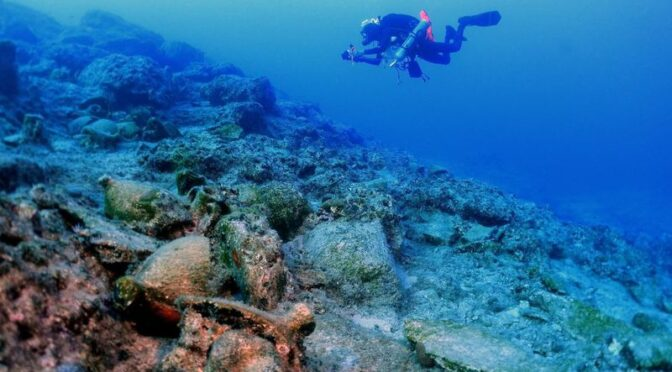 A trove of 'Ancient Treasures' Found in Shipwreck Off the Coast of Greece