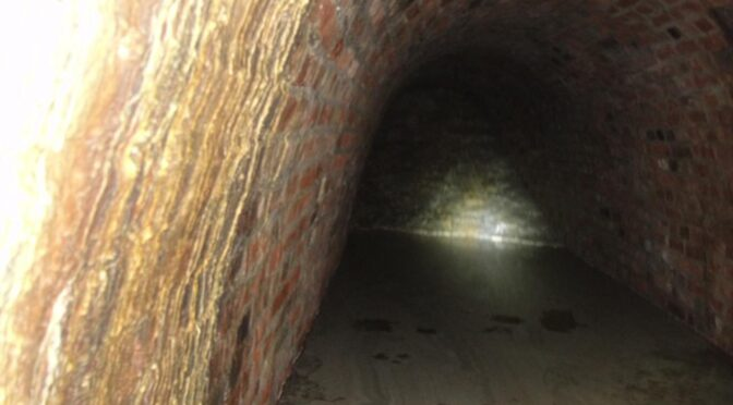 Medieval tunnel discovered under the castle in Szczecin in Poland