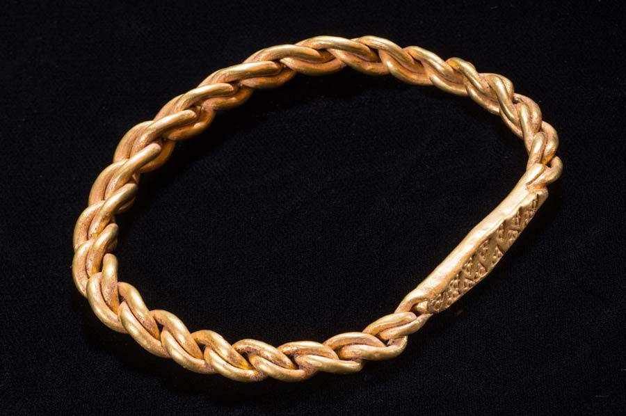 Viking treasure including gold bangle buried over 1,000 years ago is found on the Isle of Man