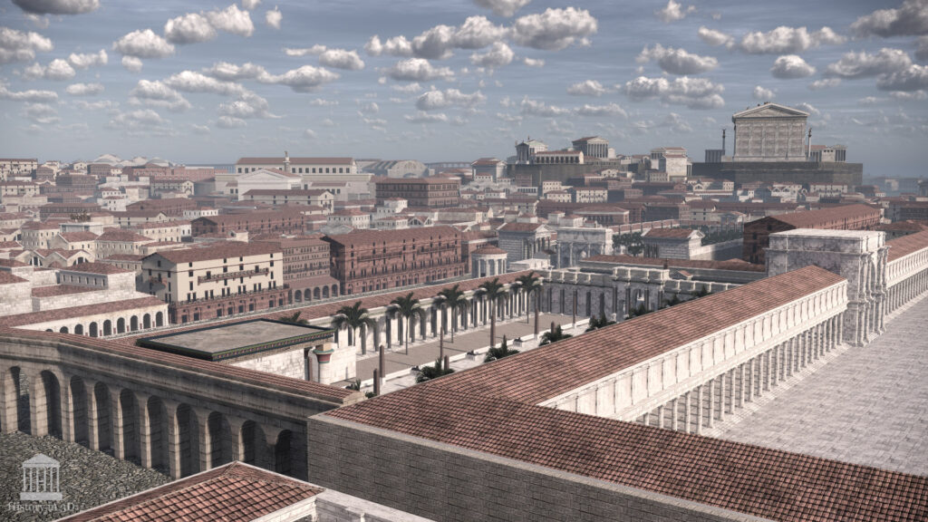 An impressive re-creation of ancient Rome Life in 3D – Amazing Work