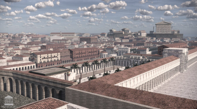 An impressive re-creation of ancient Rome Lifein 3D – Amazing Work