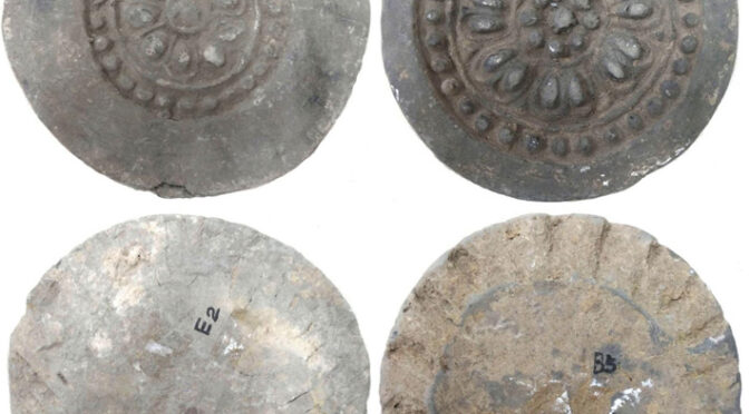 Decorative Roof Tiles from Tang Dynasty Temple Analyzed