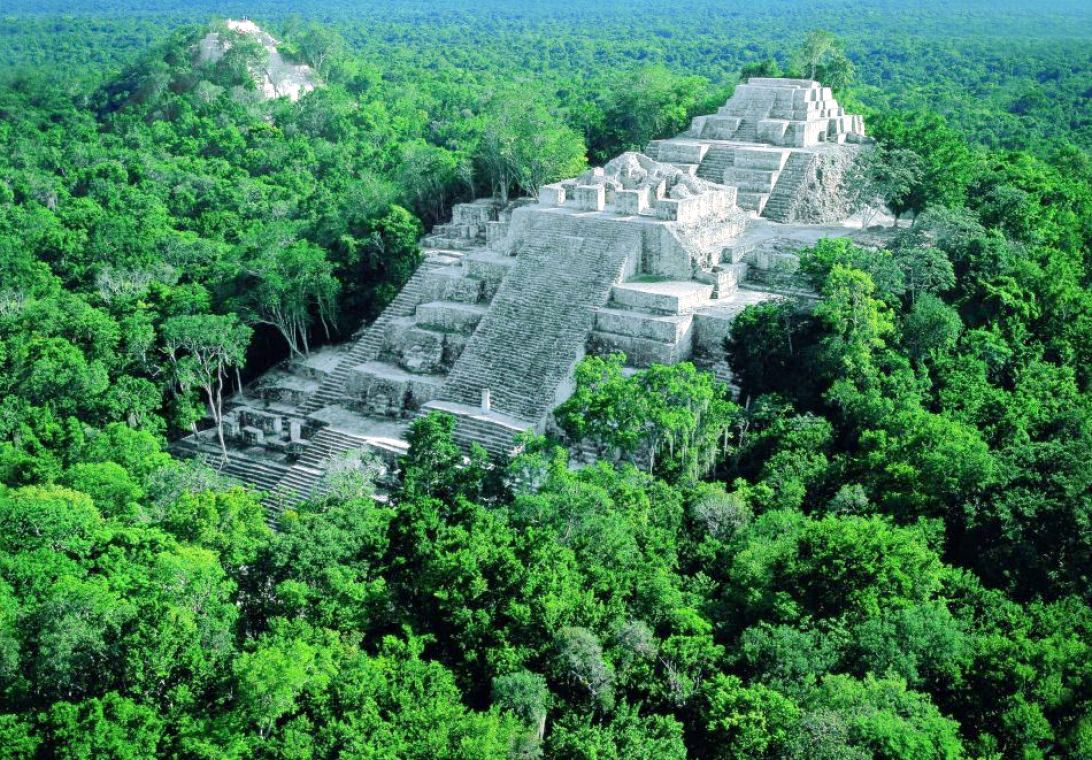 One of the Largest Pyramids on Earth is Hidden Beneath the Forest