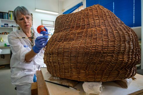 Oldest woven basket in the world found in Israel dates back 10,000 years