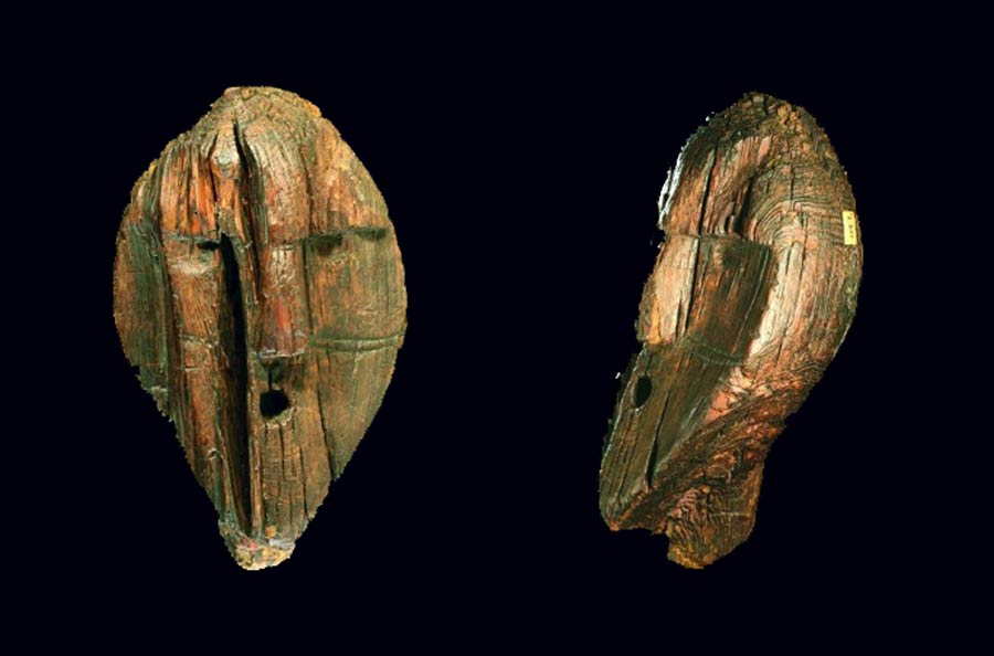World's oldest wooden statue is TWICE as old as Stonehenge