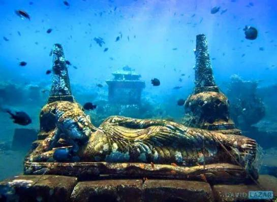 The Exceptional Discovery: Hindu Temple At Bali-Indonesia 5000+ Years Old Underwater