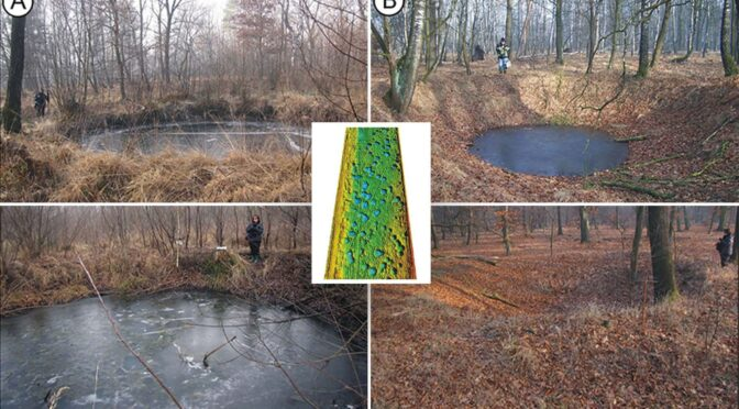 Researchers Map World War II Bomb Craters in Poland
