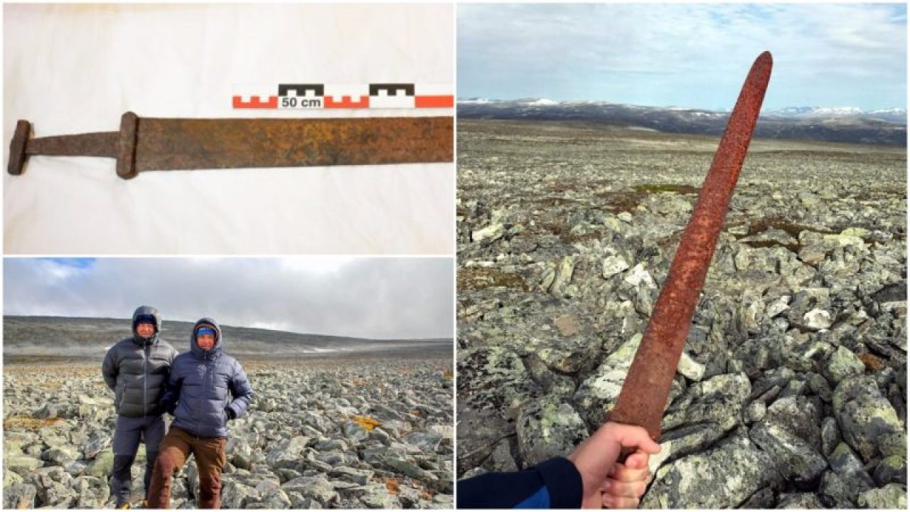 Hiker Accidentally Discovers 1,200-Year-Old Viking Sword in Norway