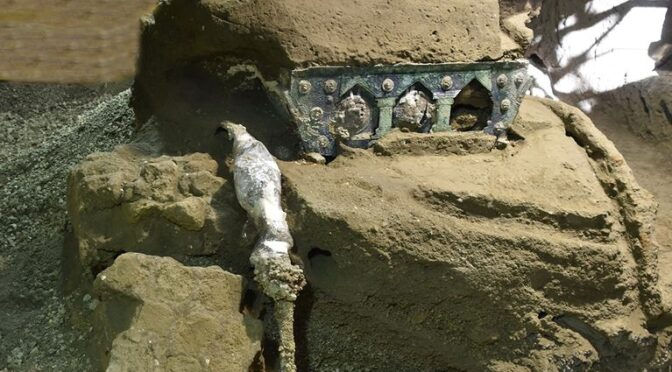 A 'Lamborghini' Of Chariots Is Discovered At Pompeii. Archaeologists Are Wowed