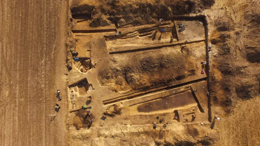 Sprawling 5,000-year-old cemetery and fortress discovered in Poland