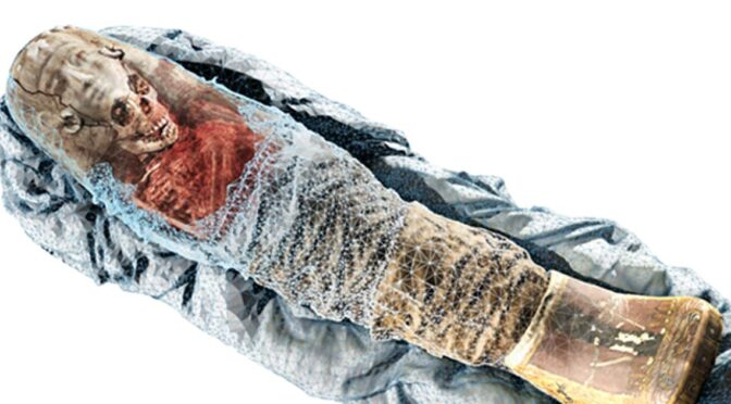 2,000-Year-Old Ancient Egyptian Child Mummy Revealed in Incredible Detail Through 3D Scanning Technology