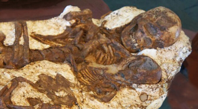 Mother Found Still Cradling Baby After 4,800 Years