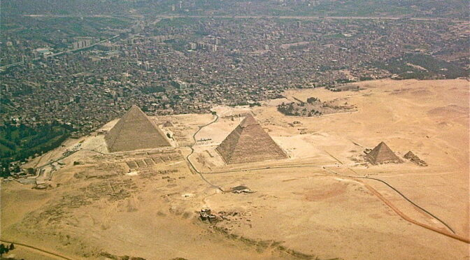 Infra-red satellite imagery unveils 17 lost Egyptian pyramids