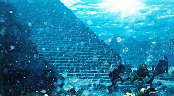 "Japan's Ancient Underwater ""Pyramid"" Mystifies Scholars"