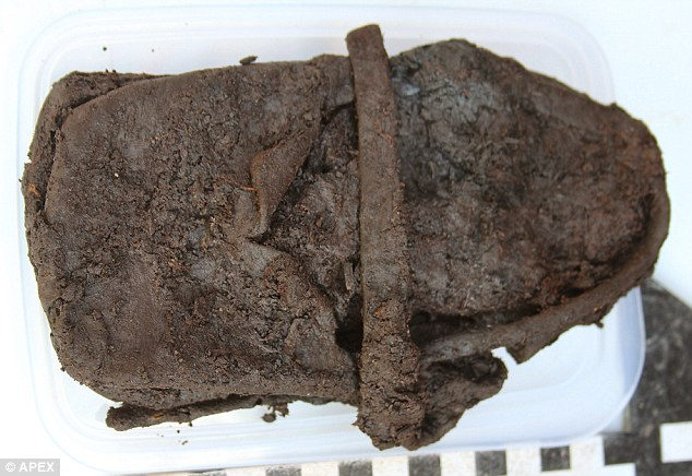 Child's 600-year-old shoe is found at Newton Abbot