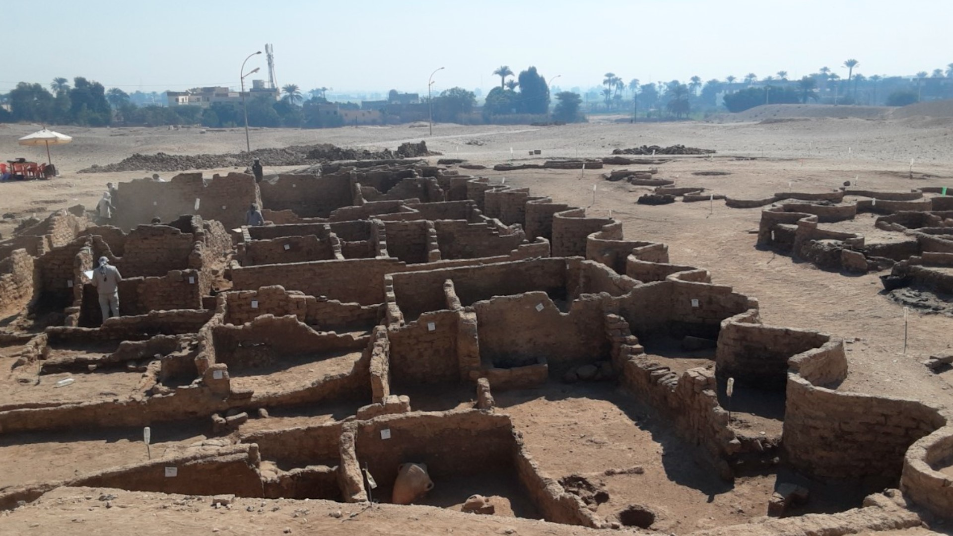Egyptian Pompeii: 3,000-year-old 'lost golden city' discovered in Egypt